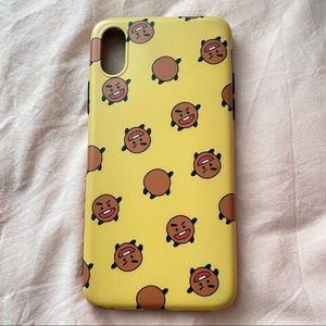 iPhone X or iPhone Xs phone case BTS character